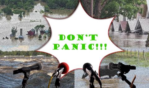Don't Panic Scenario - course logo