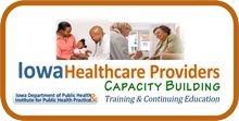 Iowa Health Care Providers - Capacity Building logo
