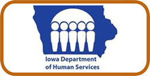 Iowa Child Care Providers - DHS logo