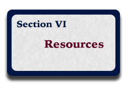 Section VI: Resources